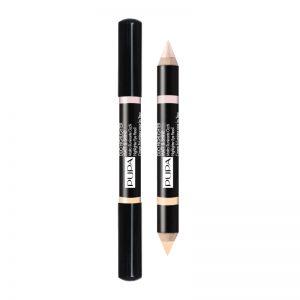 schoonheidssalon-soraya-pupa-milano-duo-highlighter-matt-&-shine-beige-001