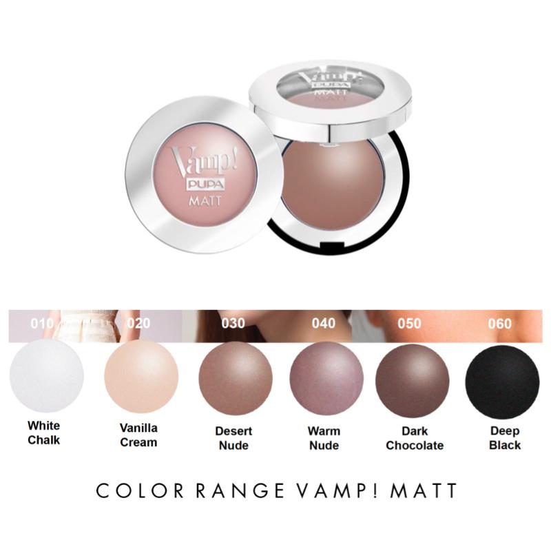 Schoonheidssalon-soraya-pupa-vamp-matt-eyeshadow-kleuren
