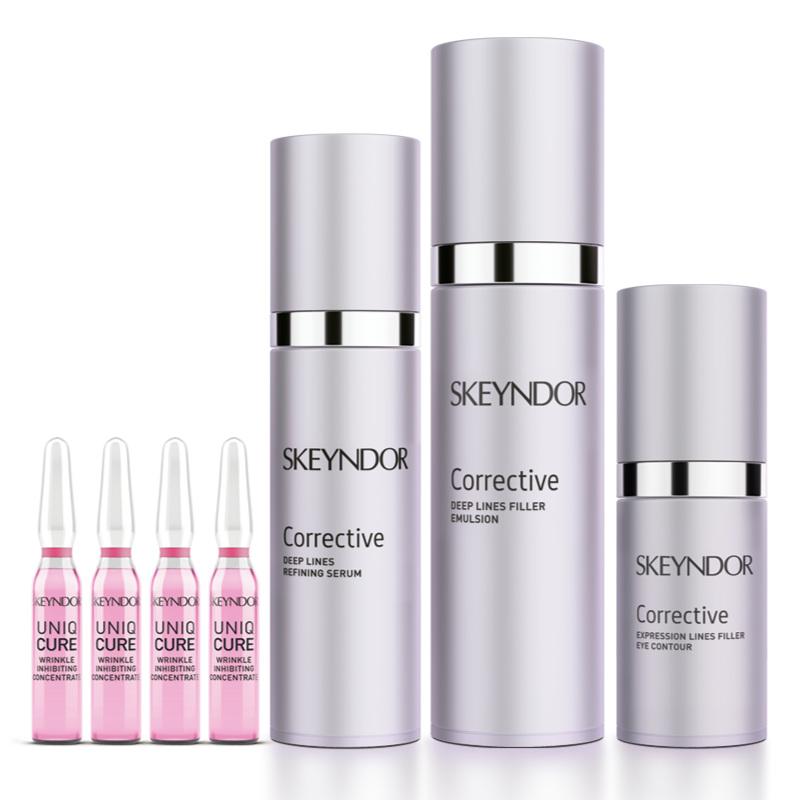 schoonheidssalon-soraya-skeyndor-corrective-emulsion-collectie